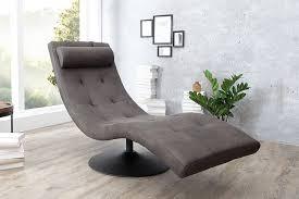 200 extravagante design liege relaxo grau mit steppung