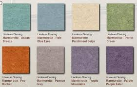 Armstrong Linoleum Floor Covering Example Colors Patterns
