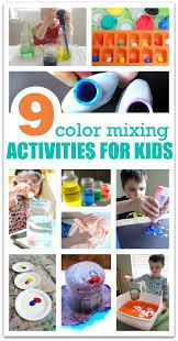 Color Mixing Activities For Preschool