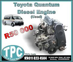 Toyota Quantum Diesel Engine - MONTHLY SPECIAL - New And Used ... Toyota 028fdf18 Diesel Forklifts Price 19522 Year Of No Engines For The Updated Tacoma Aoevolution Turner Diagnostics Lexus Fresh 2018 Toyota Truck All New Car Review The Most Reliable Motor Vehicle I Know Of 1988 Pickup Landcruiser Pick Up 42l Single Cab My16 Swiss Group Awesome Ta A Release 2016 Hilux Diesel Car Reviews New Gmc Dump Best Trucks Occasion Garage Toyotas Hydrogen Smokes Class 8 In Drag Race With Video Sale 1991 4x4 Double 3l In Pa Debuts With 177hp 33 Photos Videos