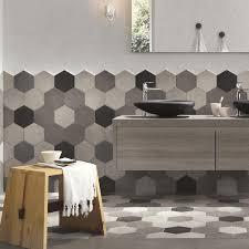 carrelage ceramique leroy merlin carrelage sol et mur gris ciment effet béton time l 21 x l 18 cm