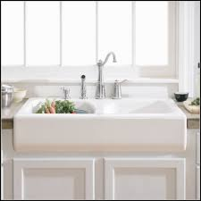 Kohler Whitehaven Sink Protector by White Farmhouse Sink Medium Size Of Kitchen36 Inch White
