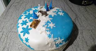 meine erste fondant torte im elsa style anfängertauglich