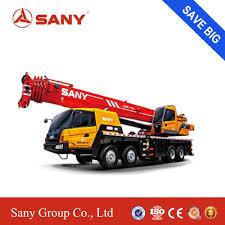 100 Truck Mounted Cranes SANY STC800SBrazil 80 Tons Crane Mobile Crane