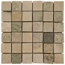 himalaya white mosaic slate tile decor ideas slate