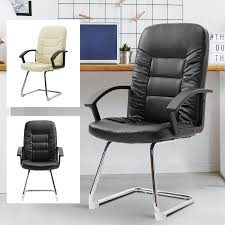 Details About High Back Plush Office Chair Guest Chair Computer Seat  Cantilever Sled Base PU Cirebon Stacking Mesh Guest Chair Fowler Highback By Flexsteel Medline Industries Inc Vinsetto High Back Office Wthick Padded Cushion Pu Lthercream Cheap Executive Chairs Find Ki Torsion Air Black Stack Younique Via Seating Back Bistro Chair Stool Source Fniture Alera Metalounge Series Highback 25 X 2637 437 Seatblack Silver Base Global Group Ofm Big And Tall Reception With Arms Microbantibacterial Vinyl Midback Genaro 2413 2588 3663 7302821 Del Mar Park Home