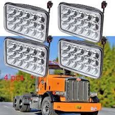 4x LED Headlamp Hi/lo Beam Headlight For Peterbilt 379 378 357 389 ... Tandem Axle Daycabs For Sale Truck N Trailer Magazine Bangshiftcom 1975 Peterbilt Rig Rod 379 With Dry Van Allwhite Toy Ebay Revell 359 Cventional 1950 Rf Another View Of This Old Pete On Ebay Dick Trucks 389 On Find The Day Optimus Prime Photo Gallery Autoblog Danger You Are About To Be Kod By A 97 American Historical Society