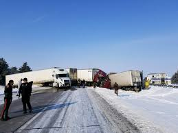 100 Iowa 80 Truck Wash Crashes Involving 11 Vehicles Temporarily Block I East Of Grand