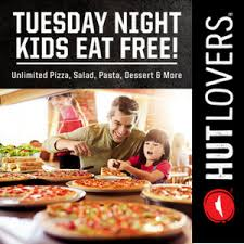 Tuesday Night Dinner Buffet Not Available At All NPC International Owned Dine In Locations Check Your Local Pizza Hut