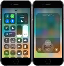 New In iOS 11 Control Apple TV Volume From Control Center Wid