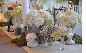 Full Size Of Ideas Mesmerizing Rustic Wedding Decorations White Organic Roses Silver Metal Flower Vase