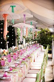 Terrific Parasol Wedding Decoration Ideas 35 On Candy Table With