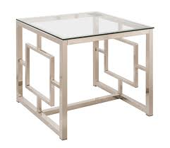 Coaster Contemporary Computer Desk by Coaster 703737 End Table Nickel 703737 At Homelement Com