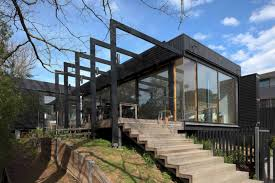 100 Melbourne Victorian Houses A Black Wood Extension For A House In