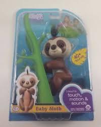 Image Is Loading Sloth Fingerlings Baby Fingerling Kingsley Authentic WowWee
