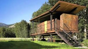 100 Cargo Container Home Rustic Built On Shoestring Budget Rhpinterestcom A