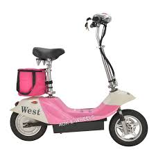 Aok Mini Folding Electric Scooter For Young Girls