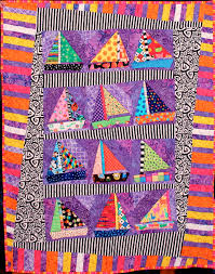 Sailboat Quilt – Talking Lunchbox Quilts