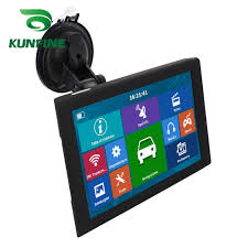 100 Gps Systems For Trucks 9 Inch Car GPS Navigation Bluetooth Truck Navigator 8GB