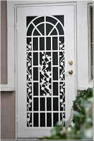 Door Providing The Home With Lowes Security Doors — Kool air