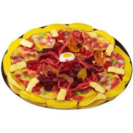 Raindrops Mini Candy Gummy Pizza 3 oz