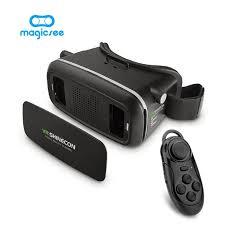 2017 Shinecon VR Virtual Reality 3D Glasses Helmet Google