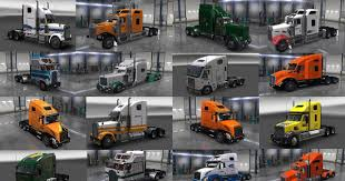 100 Movers Truck Long Distance Skinpack ATS Mods American Truck
