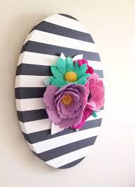 Flower Wall Art Decor Wonderful 25 Best Ideas About Floral On Pinterest