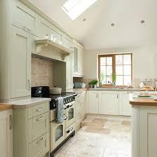 Sage Green And Cream Kitchen