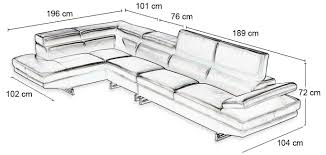 taille canapé taille canape d angle maison design wiblia com