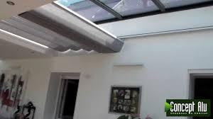store pour puits de lumière véranda nouvelle extanxia concept alu