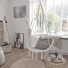 nordic baumwolle seil hängematte stuhl handgemachte