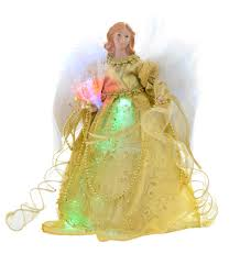 Small Fibre Optic Christmas Trees Uk by Werchristmas Fibre Optic Angel Decoration Christmas Tree Top
