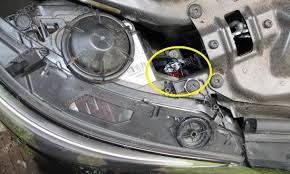 installation for bmw high power h8 led ring marker