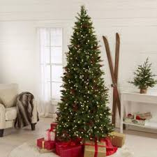 75 Foot Tall Pre Lit Cone Berry Christmas Tree