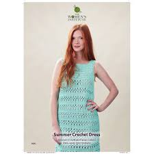 Womens Institute Vintage Summer Crochet Dress Digital Pattern 0081