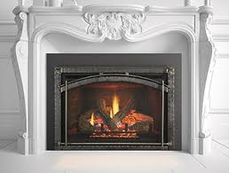 How To Put In A Gas Fireplace by Gas Fireplace Inserts Heat U0026 Glo