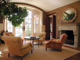 Living Room Paint Color Ideas For Mediterranean With Fireplace
