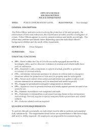Cbp Officer Job Description Fresh Border Patrol Resume Example Customs And