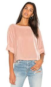 CUPCAKES AND CASHMERE KOBE TOP ROSE