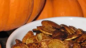 Sprout Pumpkin Seeds Recipe by Spiced Pumpkin Seeds Recipe Allrecipes Com