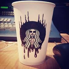 Drawing On Starbucks