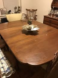 Dinning Table And China Hutch Antique 6 Chairs For Sale In Norfolk VA