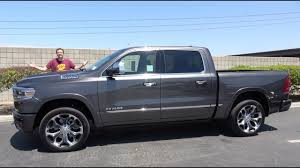 100 Ram 1500 Truck The 2019 Limited Is A 65000 UltraLuxury YouTube