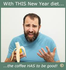 New Year Diet Coffee