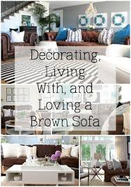 Dark Brown Couch Decorating Ideas by 30 Best Accent Colors For My Brown Couch Images On Pinterest