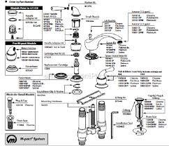 moen t4560 parts list and diagram ereplacementparts com