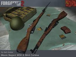 100 M44.com M38 And M44 Carbines Image Forgotten Hope 2 Mod For Battlefield 2