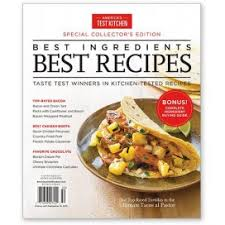 America s Test Kitchen Best Ingre nts Best Recipes Special