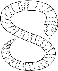 Snake Coloring Page Pages Bestofcoloring